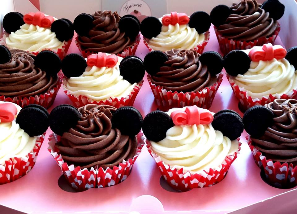 Baby Shower Cupcakes Aberdeen : Mickey & Minnie Mouse Cupcakes