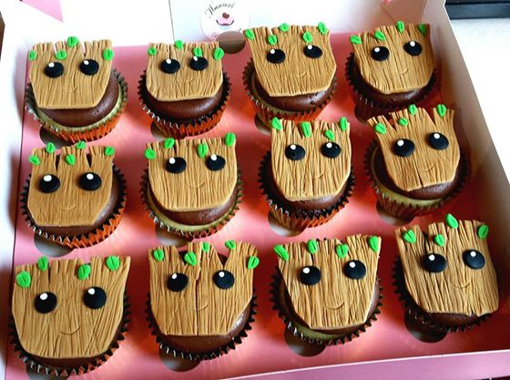 Baby Shower Cupcakes Aberdeen : Baby Groot Hannah Bakes Cakes