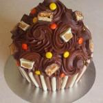peanut butter giant cupcake