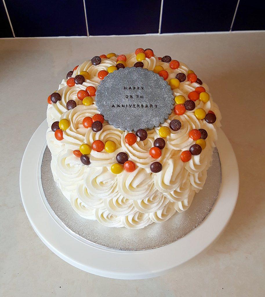 25th Wedding Anniversary Cakes: 25th-anniversary-cake